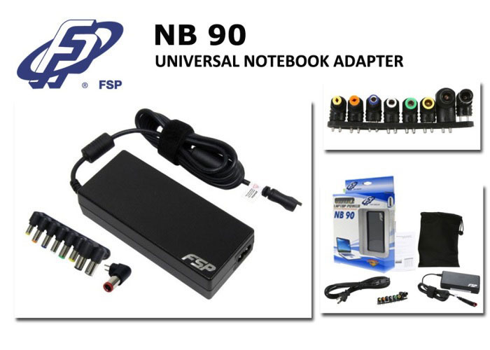 Fsp NB90 90W Notebook Universal Adaptör