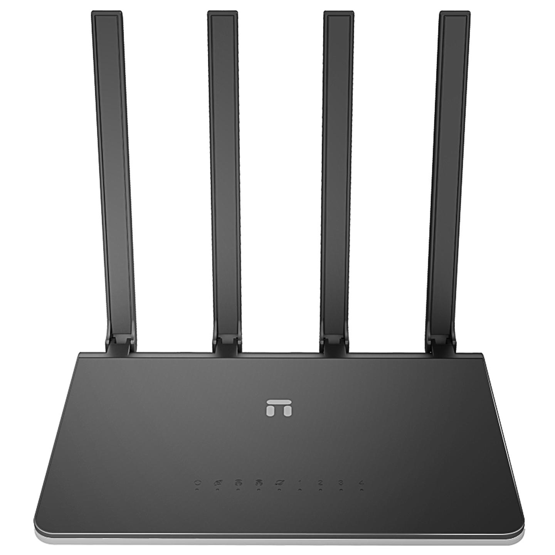 Netis N2 AC1200Mbps 2.4G/5G Full Gigabit 4*5dBi Anten AP+Repeater+WISP Easy Mesh Kablosuz Router