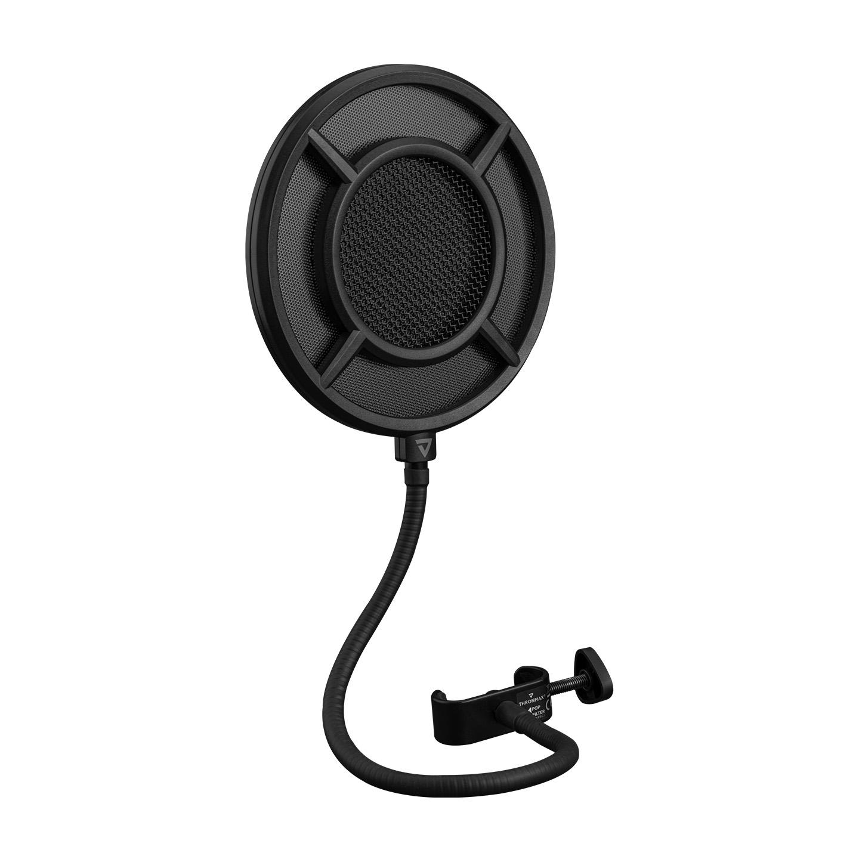 Thronmax P1 PROOF-POP FILTER Siyah 360° Ayarlı Pop Filtreli Metal Mesh Mikrofon Filtresi