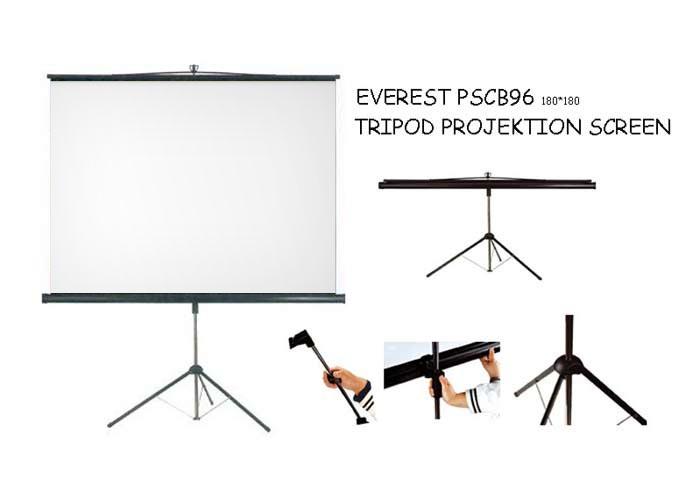 Everest PSEB96 180*180 Tripod Projeksiyon Perdesi