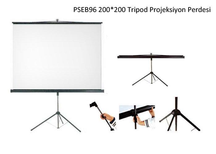 Everest PSEB96 200*200 Tripod Projeksiyon Perdesi