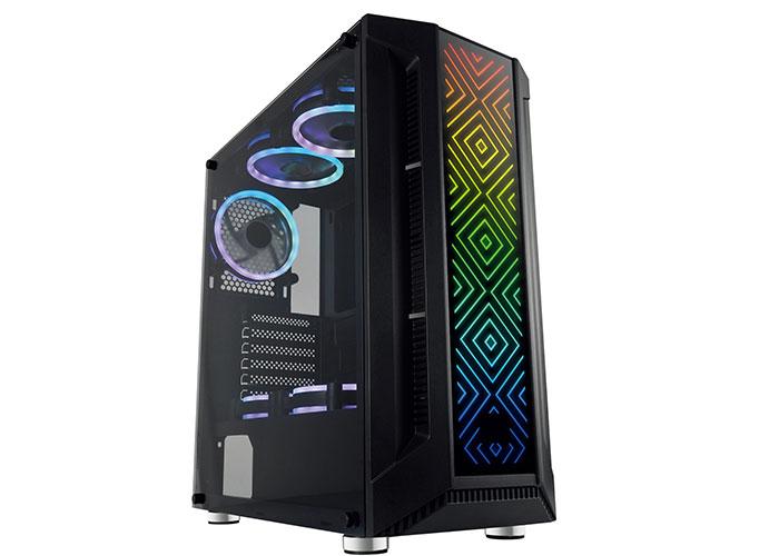 Rampage PHANTOM X2 Real 600W,APFC Bronze 1 Ad. RGB Fanlı 1*USB3.0+2*USB2.0+HD AUDIO Oyuncu Kasası