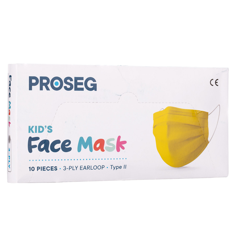 Proseg PRO3PLYKIDS Sarı Melt Blown Koruyucu Çocuk Yüz Maskesi 10lu