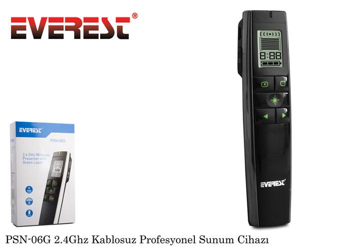 Everest PSN-06G 2.4Ghz Kablosuz Profesyonel Sunum Cihazı