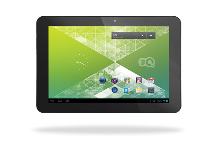 3Q QS1023H 10.1 1GB DDR3 1.2GHz x4 16GB Wifi + BT Siyah Android 4.1 JellyB. Tablet Pc