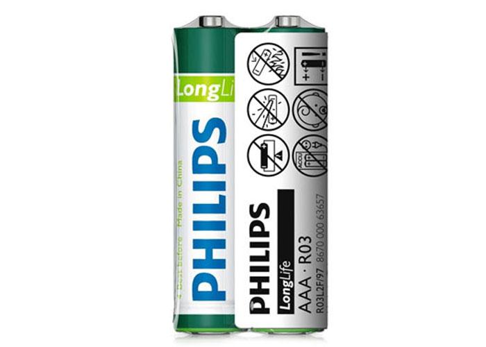 Philips R03L2F/97 Longlife AAA 2li Kalem Pil