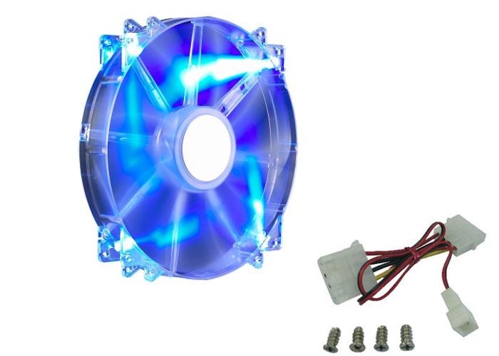 Cooler Master R4-LUS-07AB-GP 200*200*30mm MegaFlow 200 Mavi LED Kasa Fanı