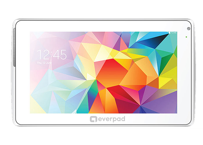 Everest EVERPAD R706 BT Dual Camera White Android 7 1GB DDR3 1.3GHz x4 8GB 6.0 Marshmallow Tablet P