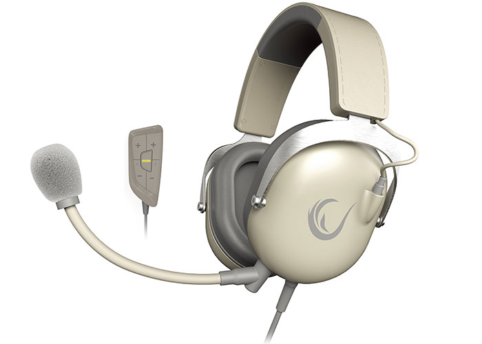 Rampage R81 CHAMPION Bej 7.1 Surround Sound System Mikrofonlu Oyuncu Kulaklığı