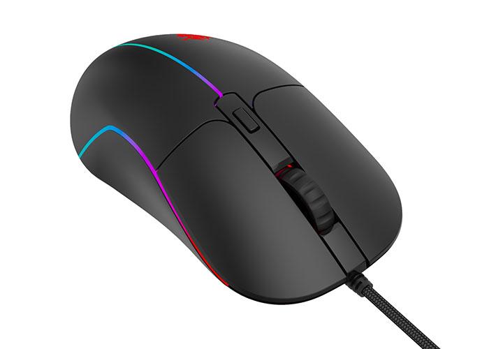Everest RAGE-X3 Usb Siyah 7 Tuşlu Ledli 6400 dpi Gaming Oyuncu Mouse
