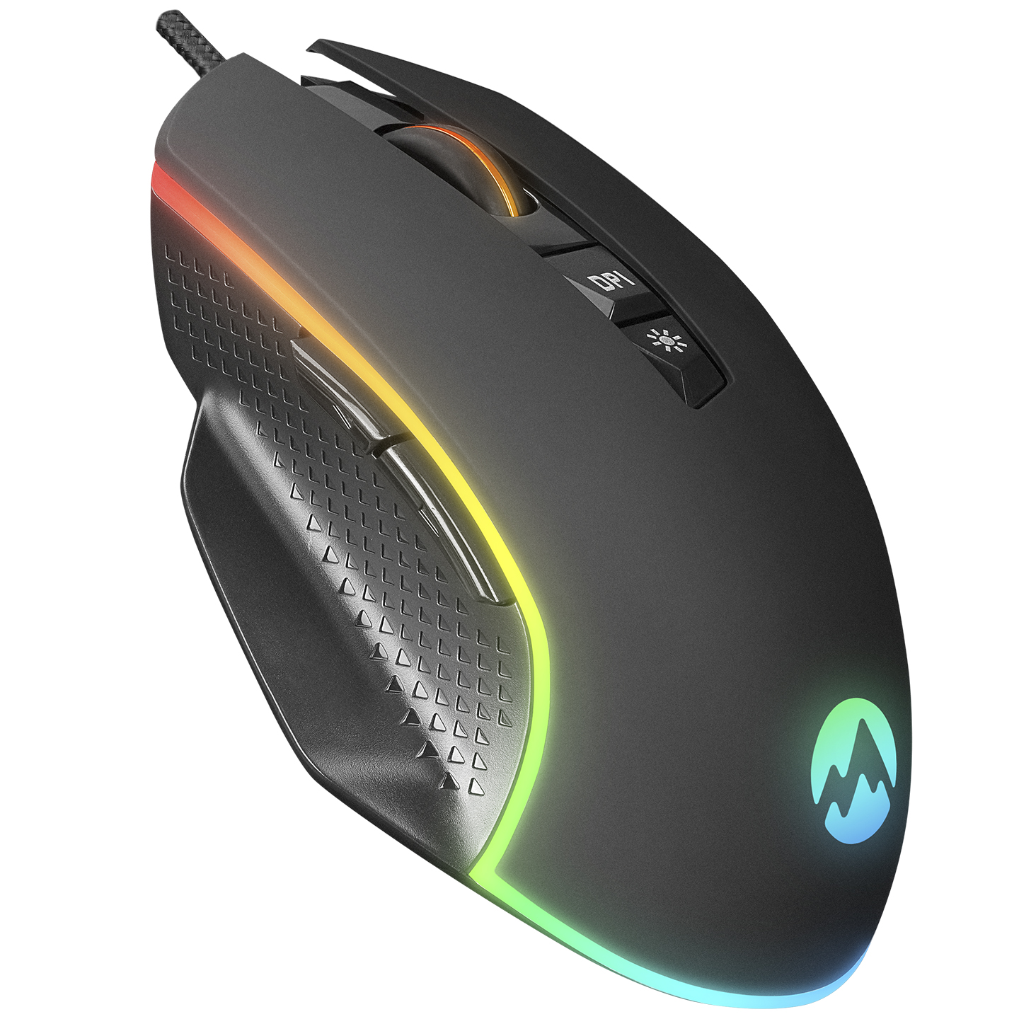 Everest RAGE-X2 Usb Siyah 800/1600/3200/4800/6400 dpi Gaming Oyuncu Mouse