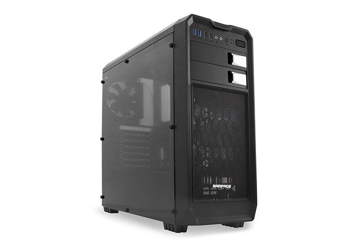 Rampage 66 Black Usb 3.0 12cm Led Fan Gaming Case
