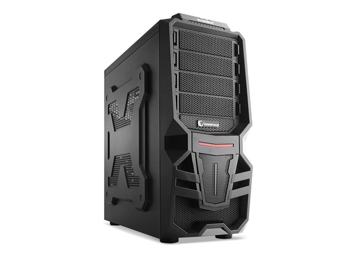 Everest Rampage 72 Black Usb 3.0 12cm Led Fan Gaming Case