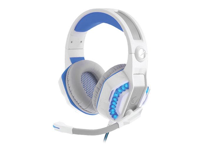 Snopy Rampage Rivia G20 Oyuncu Beyaz/Mavi Mikrofonlu Kulaklık