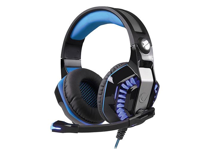 Snopy Rampage Rivia G20 Siyah/Mavi Oyuncu Mikrofonlu Kulaklık