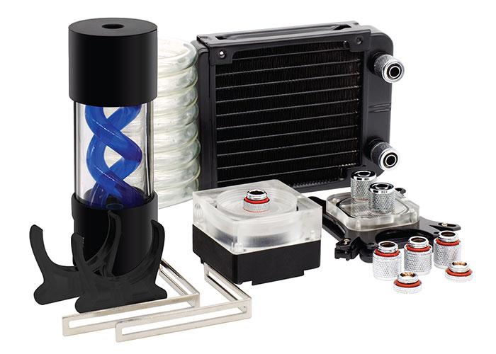 Rampage Gust Fan-K120 120 * 120 * 25mm Intel 775-2066 / Amd FM1-AMD4 Custom Liquid Cpu Cooler Kit