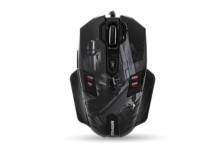 Everest Rampage GX-Core8 Usb Guns Oyuncu Mouse