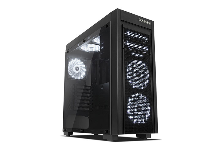 Everest Rampage HECTORA Black 2*USB3.0 + 3*12cm Fan Gaming Case