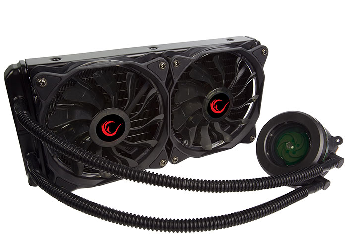 Rampage Moon Chill-240 Socket AM4 / 2011 2 * 120x120x25mm Water Cooling CPU Cooler