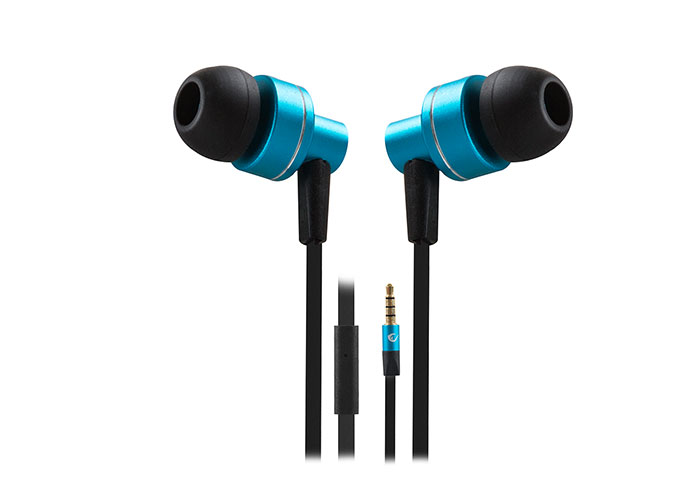 Snopy Rampage Phoenix Mobile Phone Compatible In-Ear Blue/Black Headset