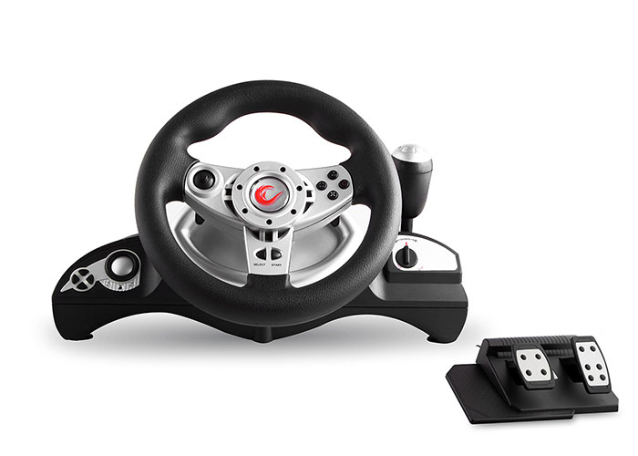 Snopy Rampage RX3 PC / PS2 / PS3 Vibrating 4in1 Steering Wheel