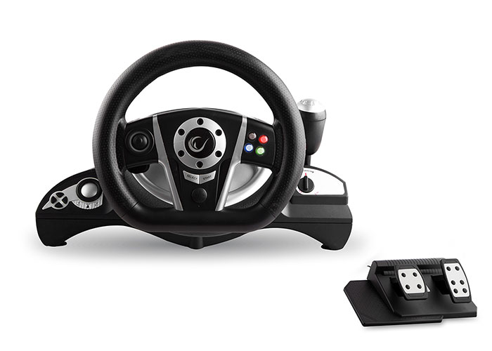 Snopy Rampage RX4 PC / PS3 / Xbox Vibrating 4in1 Steering Wheel