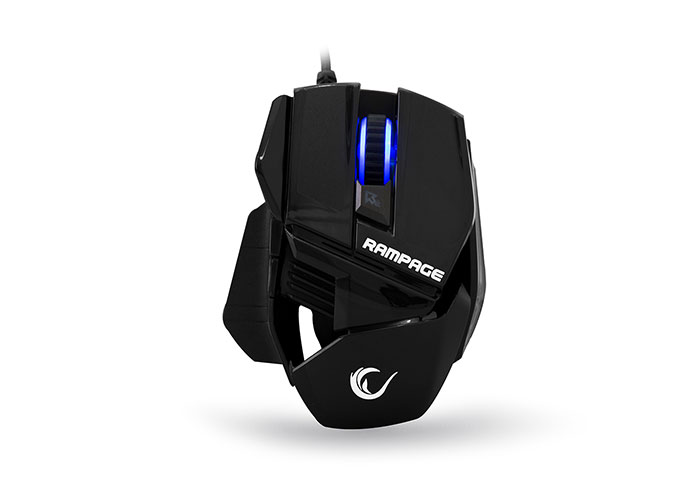 Rampage SMX-77 Usb Black 2000dpi Gaming Mouse