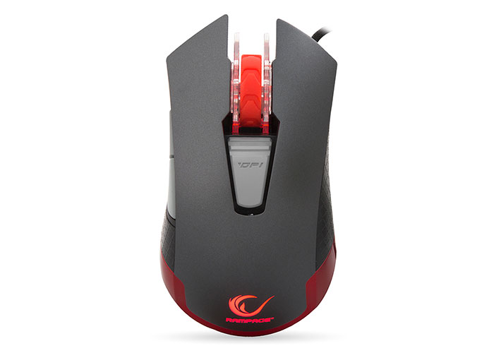 Everest Rampage CYREX SMX-R11 Usb Black / Red 1200-4000Dpi Macro Gaming Mouse