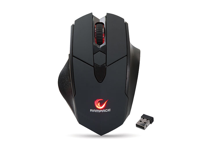 Everest Rampage SMX-R12 Hawker Black 4800Dpi Gaming Wireless Mouse