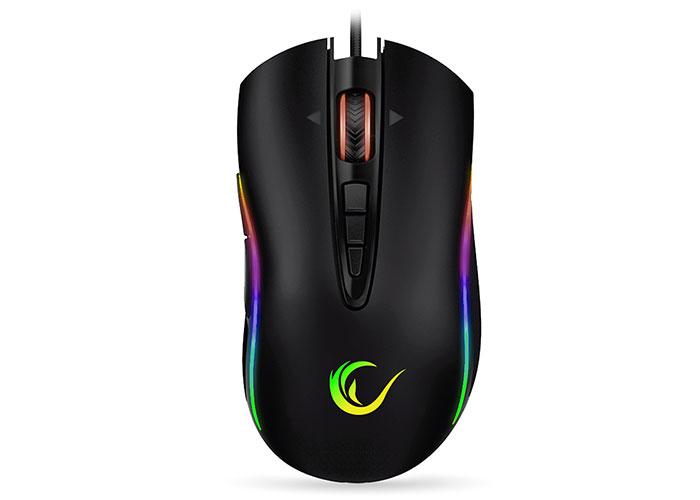 Everest Rampage Shine SMX-R15 Usb Siyah/Gri 10 Tuş 10000 Dpi RGB Oyuncu Mouse