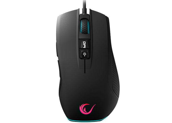Rampage SMX-R51 FLARE Usb Siyah 10000 Dpi RGB Profesyonel Makrolu Gaming Mouse