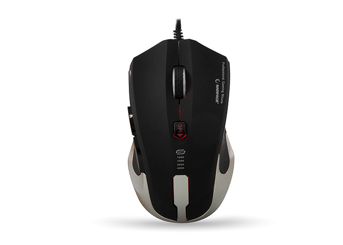 Rampage SMX-R5 Usb Mat Metal 4000 Dpi Gaming Makrolu Oyuncu Mouse