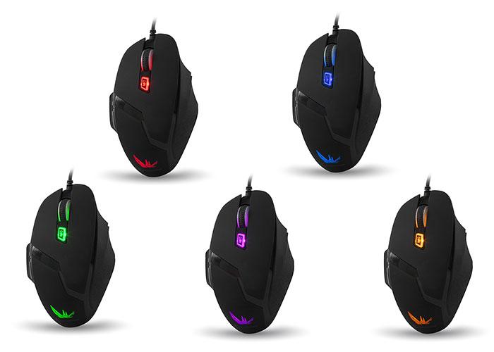Everest Rampage SMX-R7 Siyah 4000 Dpi Oyuncu Mouse ile ilgili görsel sonucu