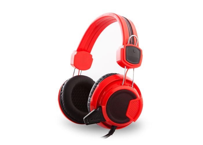 Snopy Rampage SN-R8 Kırmızı/Siyah Mikrofonlu Kulaklık