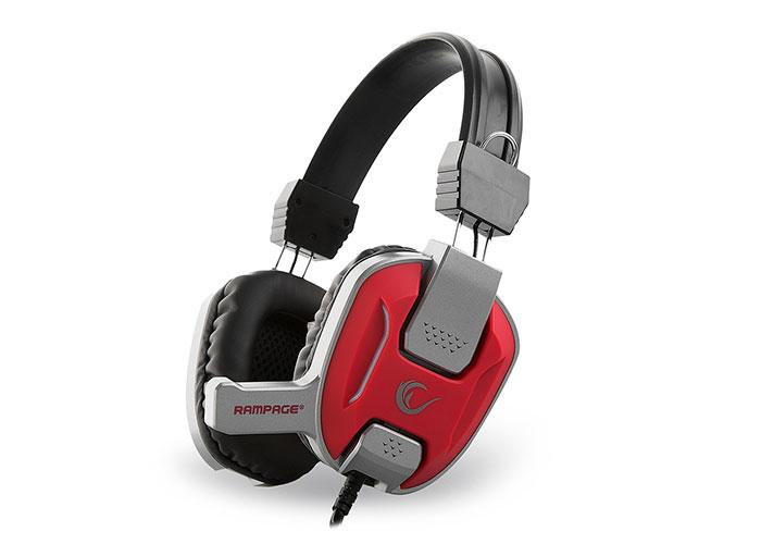 Rampage SN-R12 Kırmızı/Gri Gaming Mikrofonlu Kulaklık