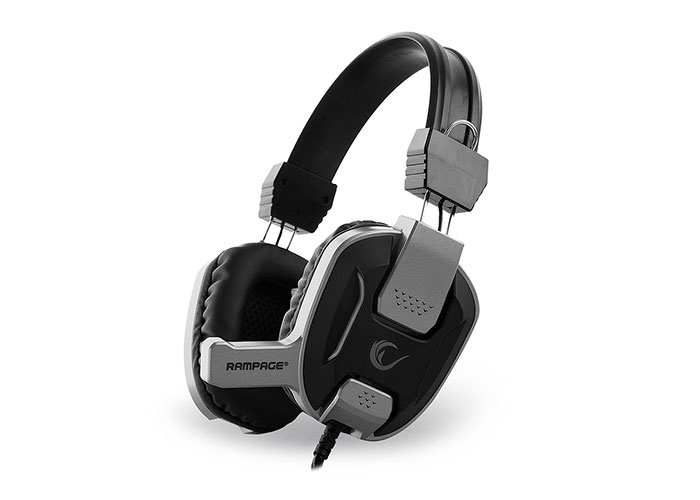 Snopy Rampage SN-R12 Gaming Black/ Silver Headset