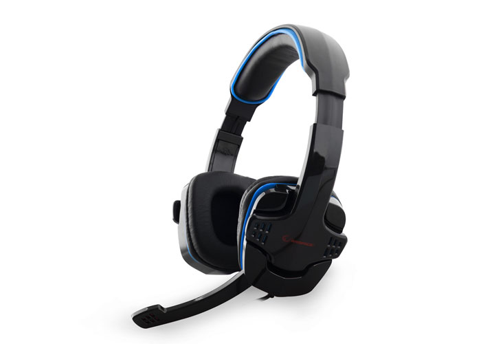 Snopy Rampage SN-R9 Oyuncu Siyah/Mavi Mikrofonlu Kulaklık