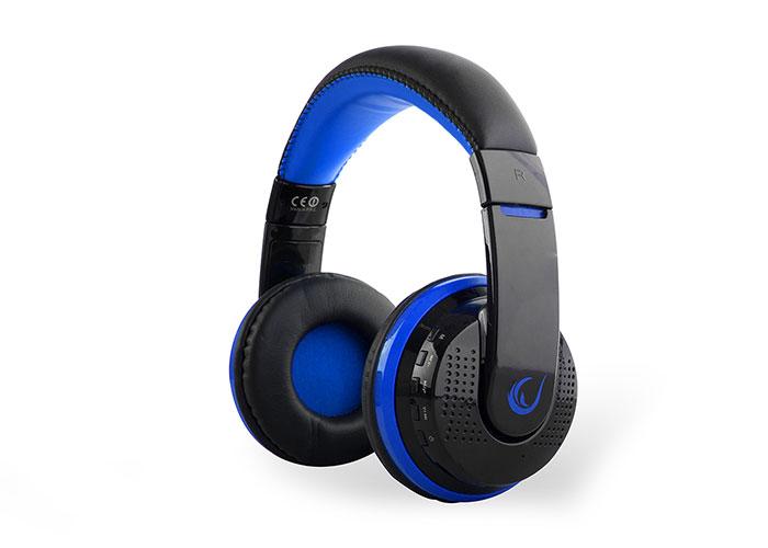 Rampage SN-RBT7 MicroSD Kart Destekli Oyuncu Mavi Bluetooth Kulaklık