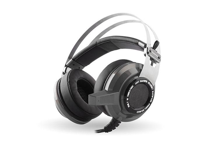 Snopy Rampage SN-RW3 USB 7.1 Vibrating Gaming Silver/Gray Headset