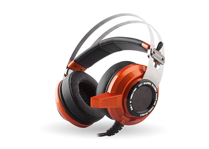 Snopy Rampage SN-RW3 USB 7.1 Viibrating Gaming Orange Headset