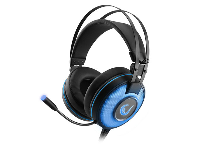 Rampage SN-RW66 ALPHA-X Blue 7.1 Surround Sound System Gaming Headset with Microphone