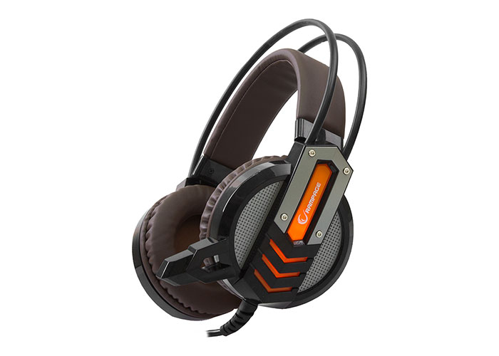 Rampage SN-RX3 Black / Orange Player Headset with Microphone