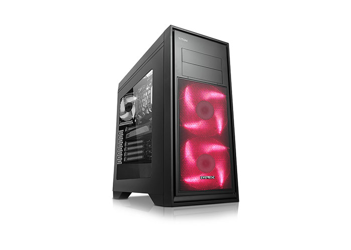 Everest TITAN 750W 80 Plus Siyah 3*12cm Fan Usb3.0 Gaming MidT ATX Kasa