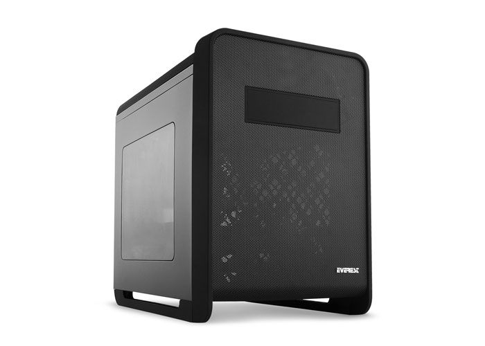 Everest Rampage XCUBE Black 2*12cm Fan Usb3.0 Case