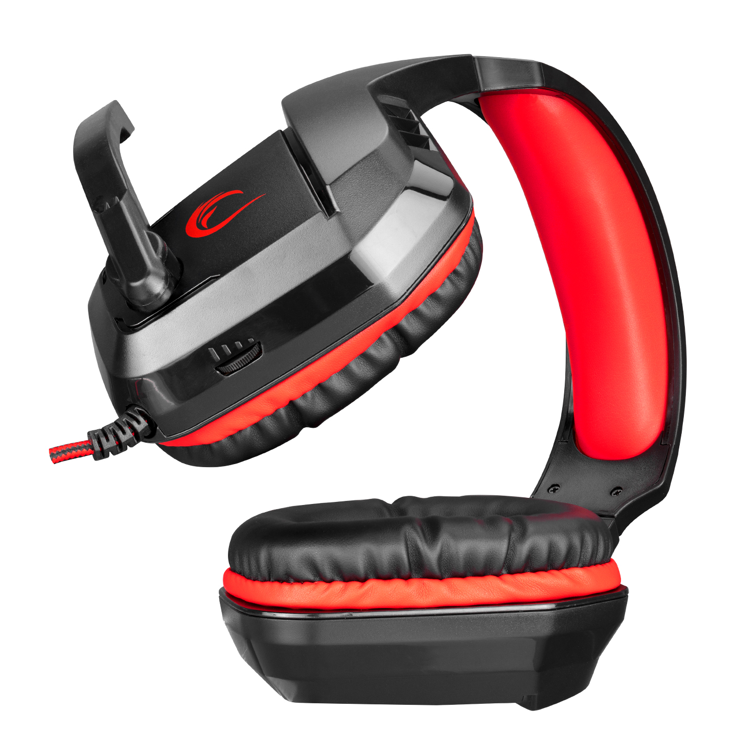Rampage RH1 HECTORA Black / Red 2 * 3.5mm Gaming Headset with Microphone