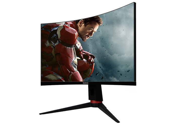 Rampage RM-Q27 27inç Led 165Hz 3*HDMI+DP G-Sync HDR PC Curved Oyuncu Monitörü