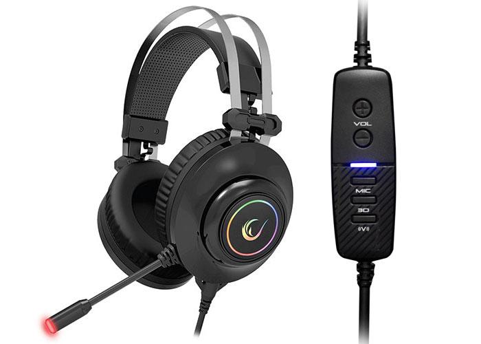 Rampage RM-K1 PULSAR Siyah Usb 7.1 Surround+Titreşim RGB Işık Efektli Gaming Oyuncu Mikrofonlu Kulaklık