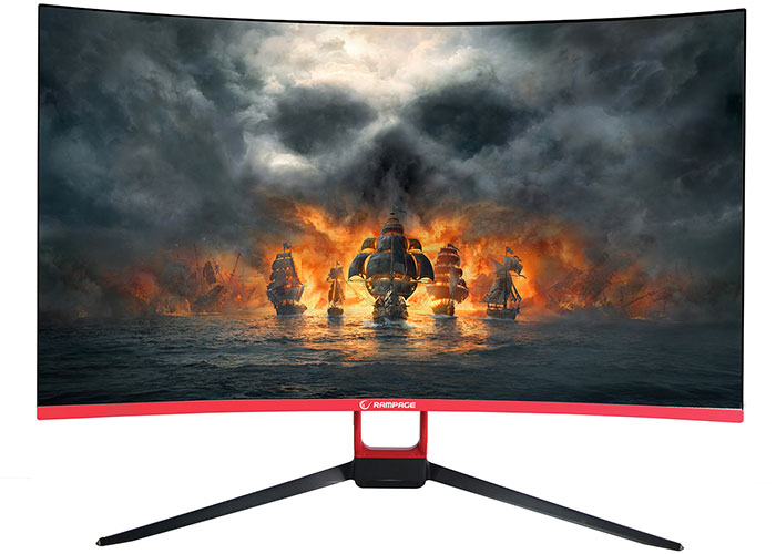 Rampage RM-365 27inch Led 165Hz Freesync Technology PC Curved GAMING Monitor
