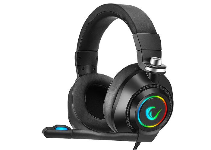 Rampage RM-K20 AMAZE Siyah USB 7.1 Noice Cancelling Mic RGB Ledli Gaming Oyuncu Mikrofonlu Kulaklık