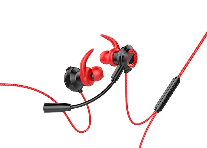 Rampage RM-K21 SUPERB 3,5mm Gaming Kırmızı Kulak İçi Mikrofonlu Kulaklık